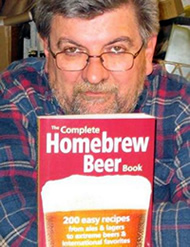George Hummel and his The Complete Homebrew Beer Book.