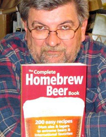 George Hummel with The Complete Homebrew Beer Book.